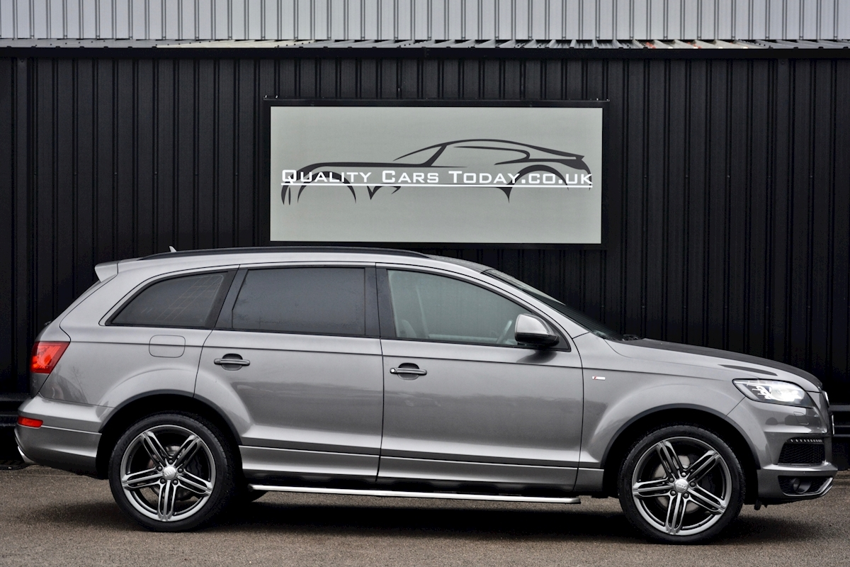 Audi Q7 3.0 TDI S-Line quattro 1 Former Keeper + Full Audi Main Dealer History + High Spec - Large 4