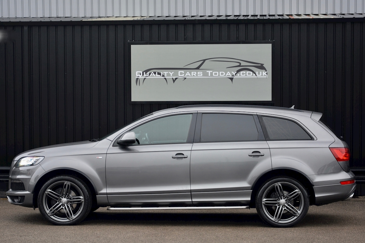 Audi Q7 3.0 TDI S-Line quattro 1 Former Keeper + Full Audi Main Dealer History + High Spec - Large 1