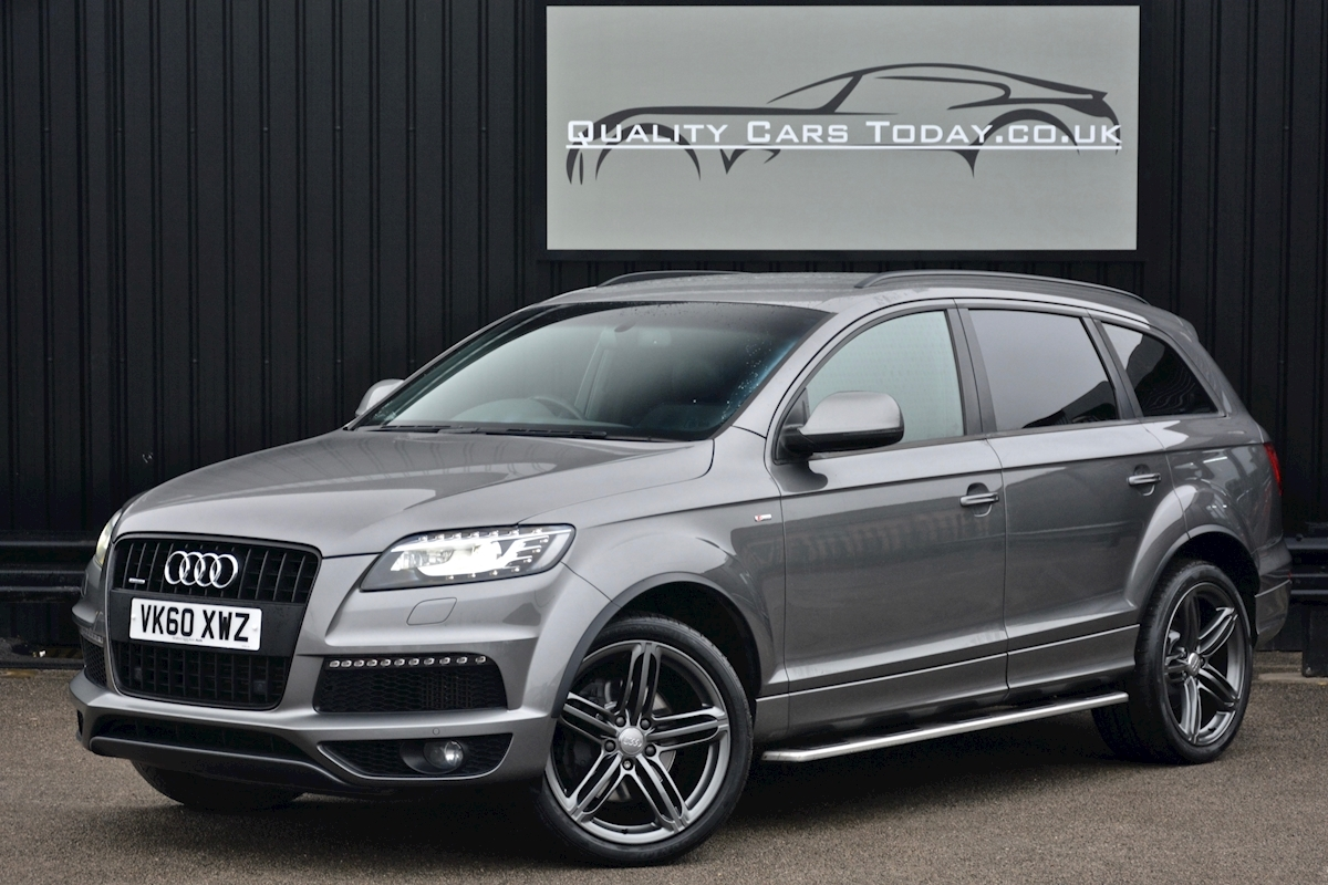 Audi Q7 3.0 TDI S-Line quattro 1 Former Keeper + Full Audi Main Dealer History + High Spec - Large 5