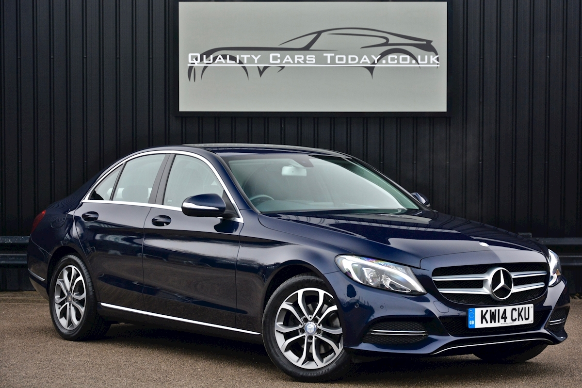 Mercedes C200 Sport 7G Tronic Plus Auto Family Ownership + Full MB Main Dealer History - Large 0