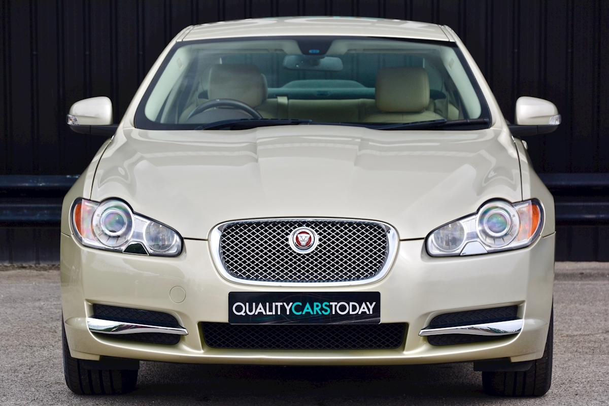 used jaguar xf xf v6 luxury 2 7 4dr saloon automatic. Black Bedroom Furniture Sets. Home Design Ideas