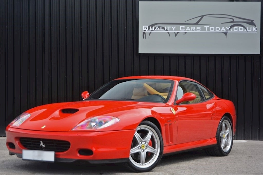 Ferrari 575M F1 *Rosso Corsa with Tan Leather* Fiorano Handling Pack