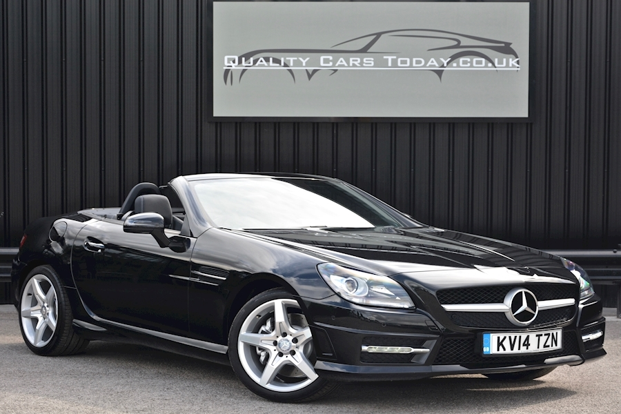 Mercedes Slk 200 AMG Sport Auto Air Scarf + Heated Seats + Navigation