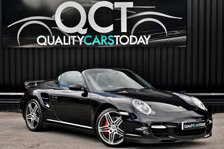 911 Turbo Tiptronic S 3.6 2dr Convertible Automatic Petrol