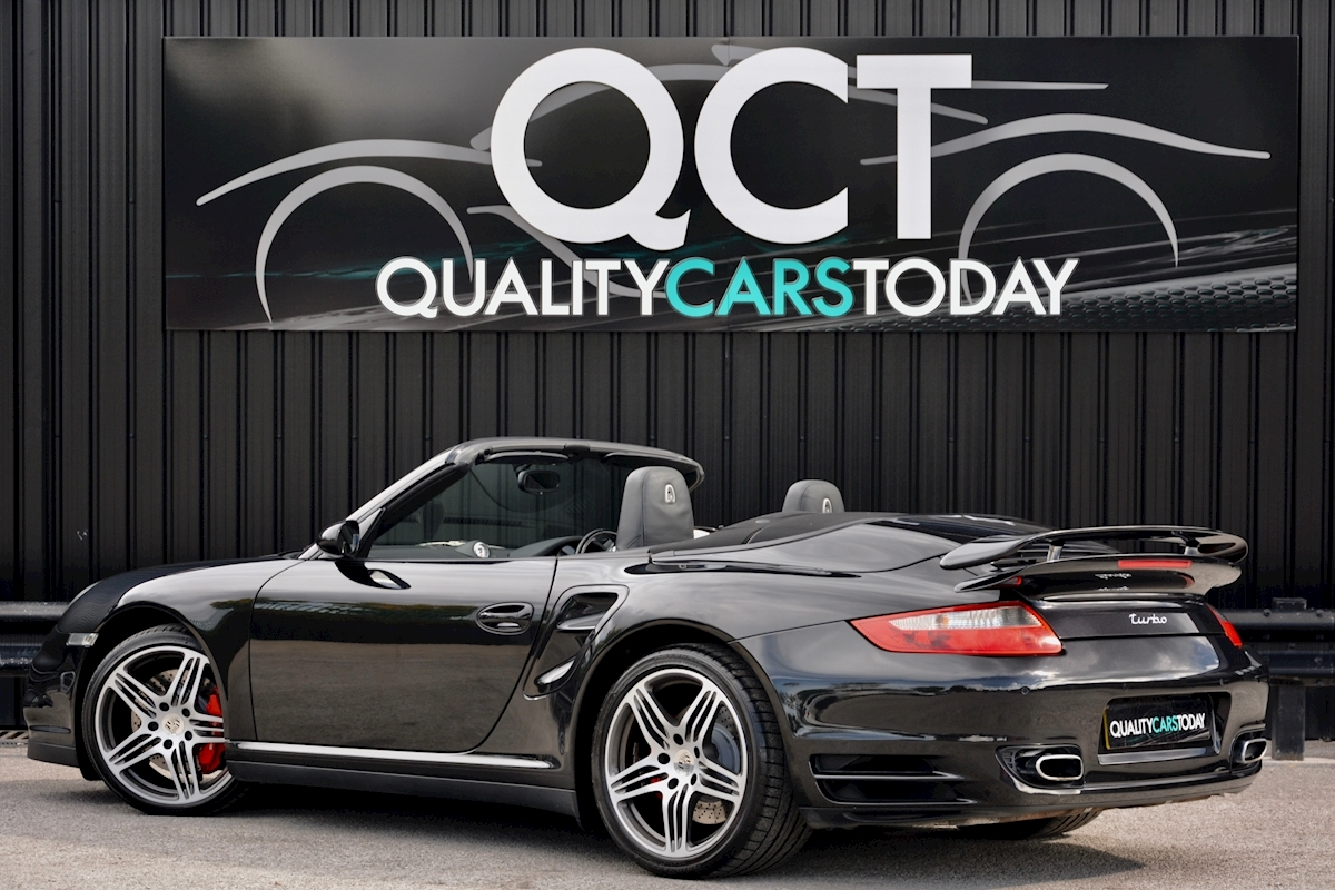 Porsche 911 911 Turbo Tiptronic S 3.6 2dr Convertible Automatic Petrol - Large 7