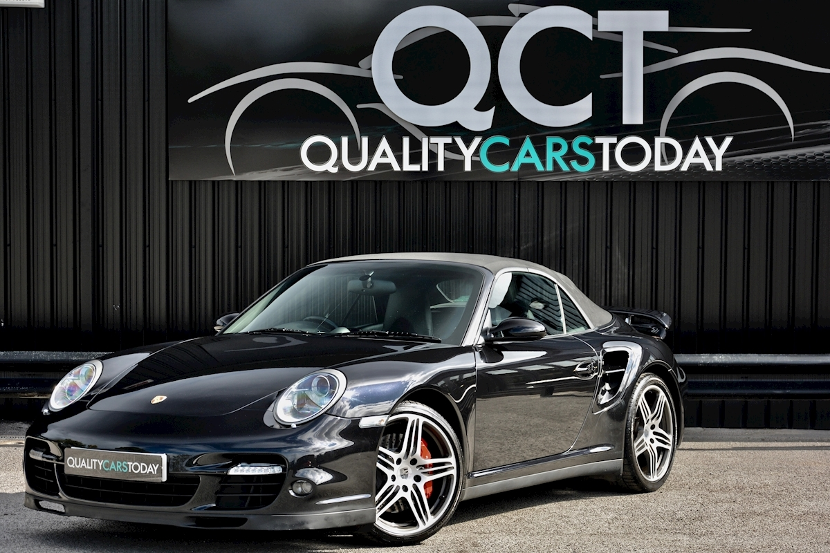 Porsche 911 911 Turbo Tiptronic S 3.6 2dr Convertible Automatic Petrol - Large 8