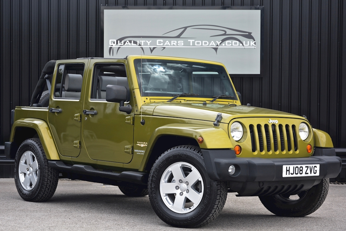 Jeep Wrangler Unlimited Sahara Wrangler Unlimited Sahara 2.8 CRD Diesel  Auto 2.8 4dr Convertible Automatic Diesel