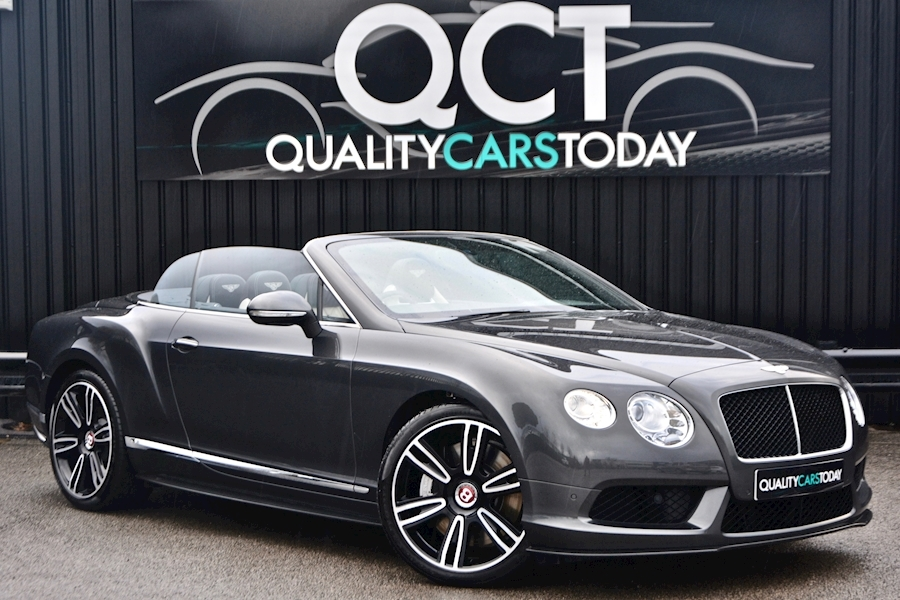 Bentley Continental GTC V8 Continental 1 Former Keeper + £182,544 List Price Image 0