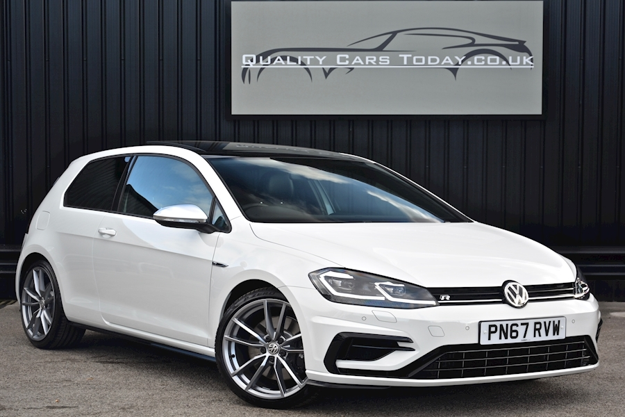 Volkswagen Golf R DSG *Massive Spec + VAT Q* Pan Roof + Carbon Nappa + Dynamic Chassis