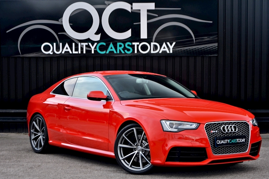 Sports Pack + Bucket Seats + Full Audi History