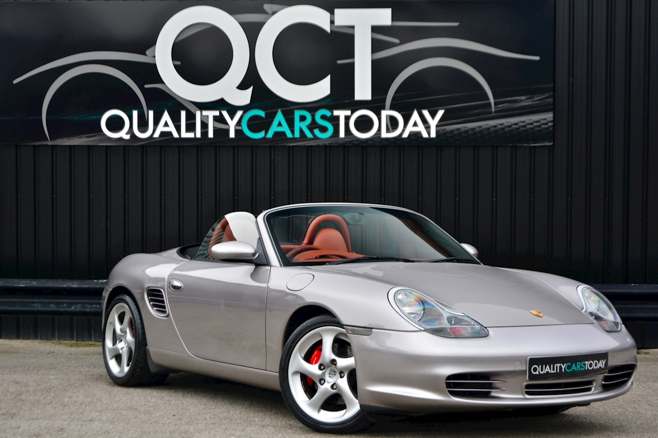 Porsche Boxster 3.2 S Manual 14 Porsche Main Dealer Stamps + Ultra Rare - Large 0