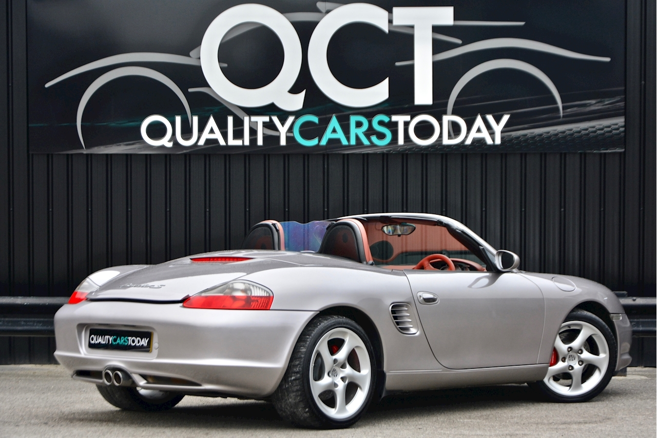 Porsche Boxster 3.2 S Manual 14 Porsche Main Dealer Stamps + Ultra Rare - Large 8