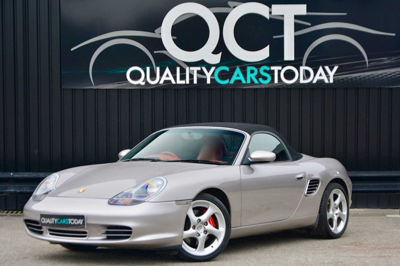 Porsche Boxster 3.2 S Manual 14 Porsche Main Dealer Stamps + Ultra Rare - Large 9