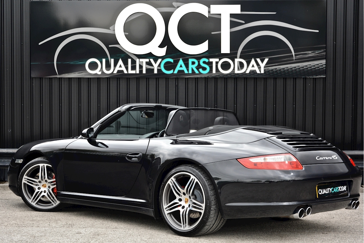 Porsche 911 911 Carrera 4S 3.8 2dr Convertible Manual Petrol - Large 1