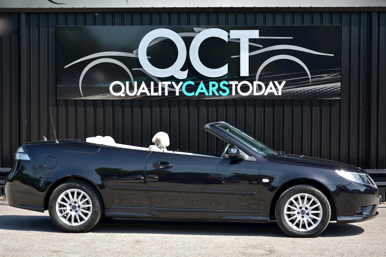 Saab 9-3 Convertible 1.9 TTID Automatic 1 Former Keeper  + Just 35k Miles + Pristine - Large 10