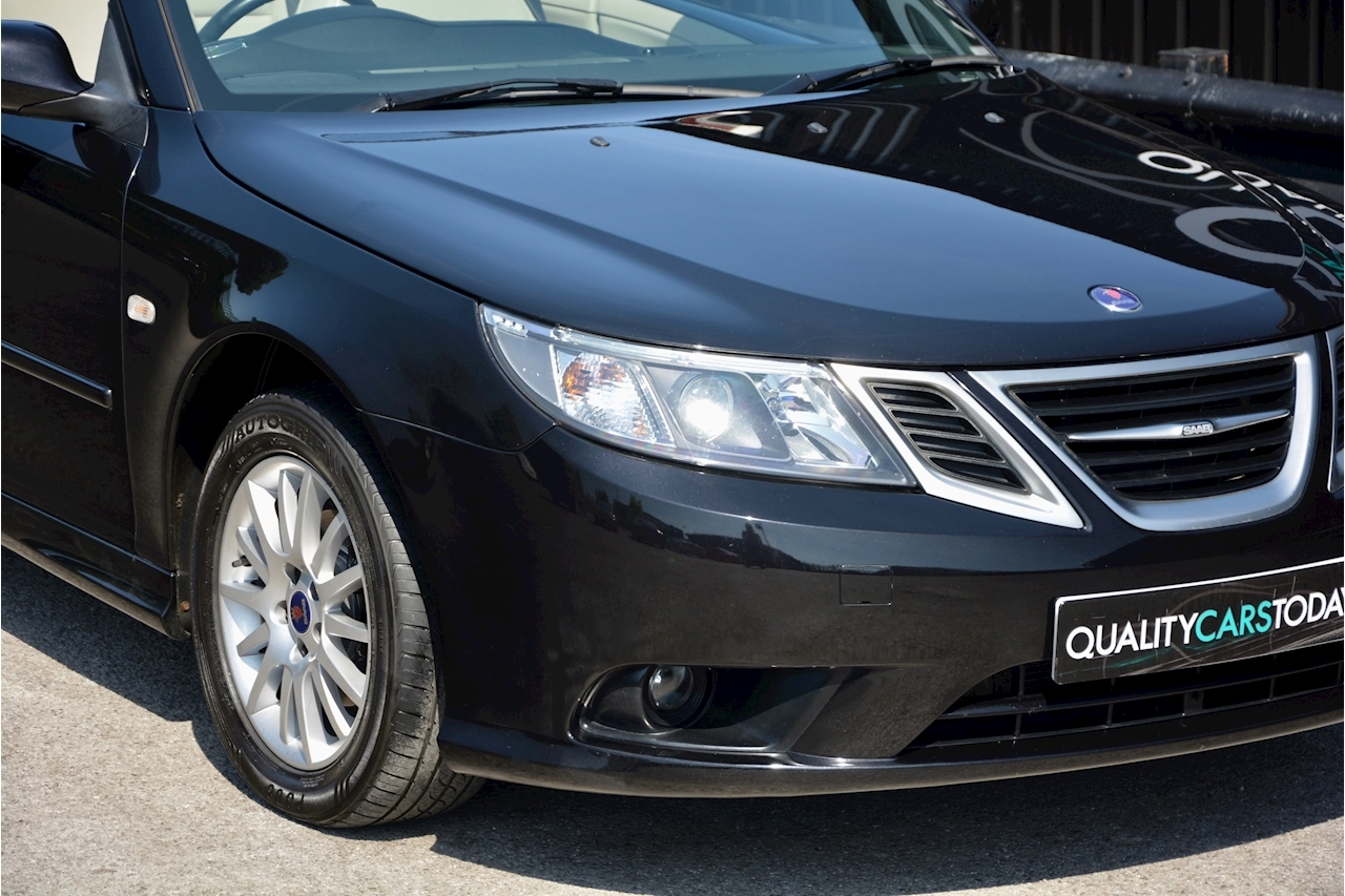 Saab 9-3 Convertible 1.9 TTID Automatic 1 Former Keeper  + Just 35k Miles + Pristine - Large 15