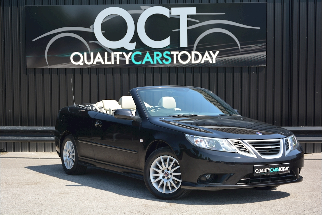 Saab 9-3 Convertible 1.9 TTID Automatic 1 Former Keeper  + Just 35k Miles + Pristine - Large 0