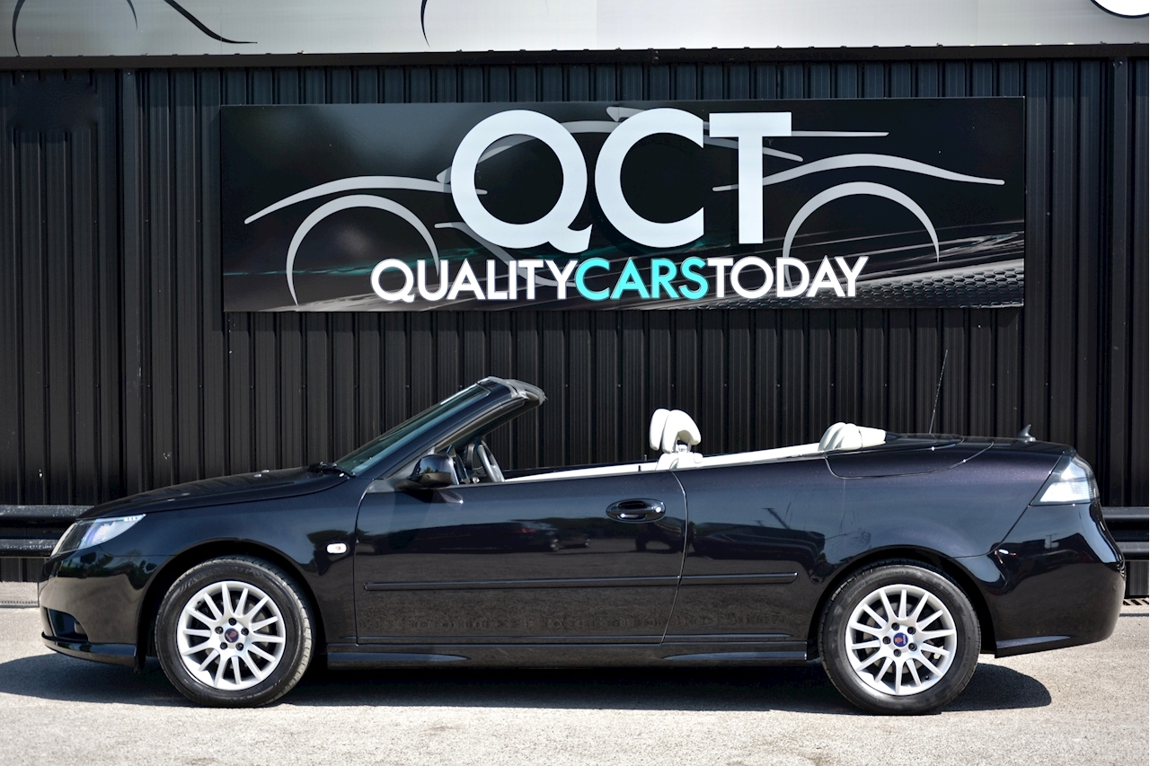 Saab 9-3 Convertible 1.9 TTID Automatic 1 Former Keeper  + Just 35k Miles + Pristine - Large 1