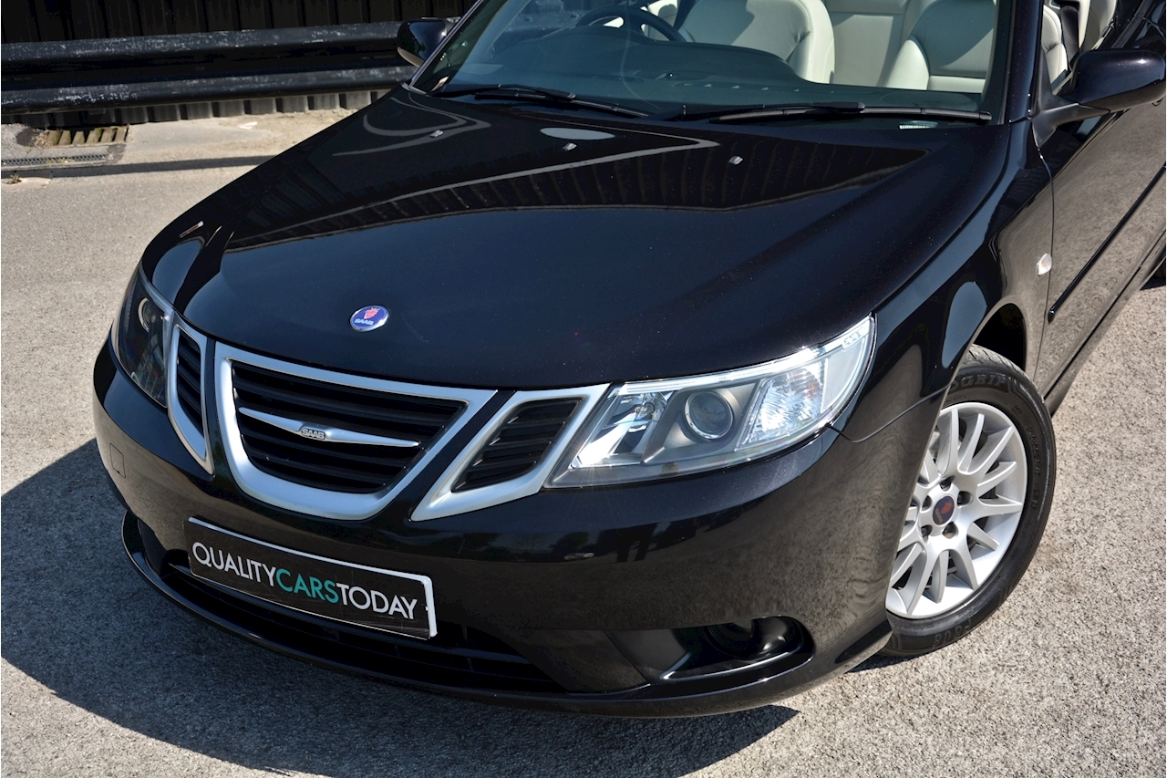 Saab 9-3 Convertible 1.9 TTID Automatic 1 Former Keeper  + Just 35k Miles + Pristine - Large 24
