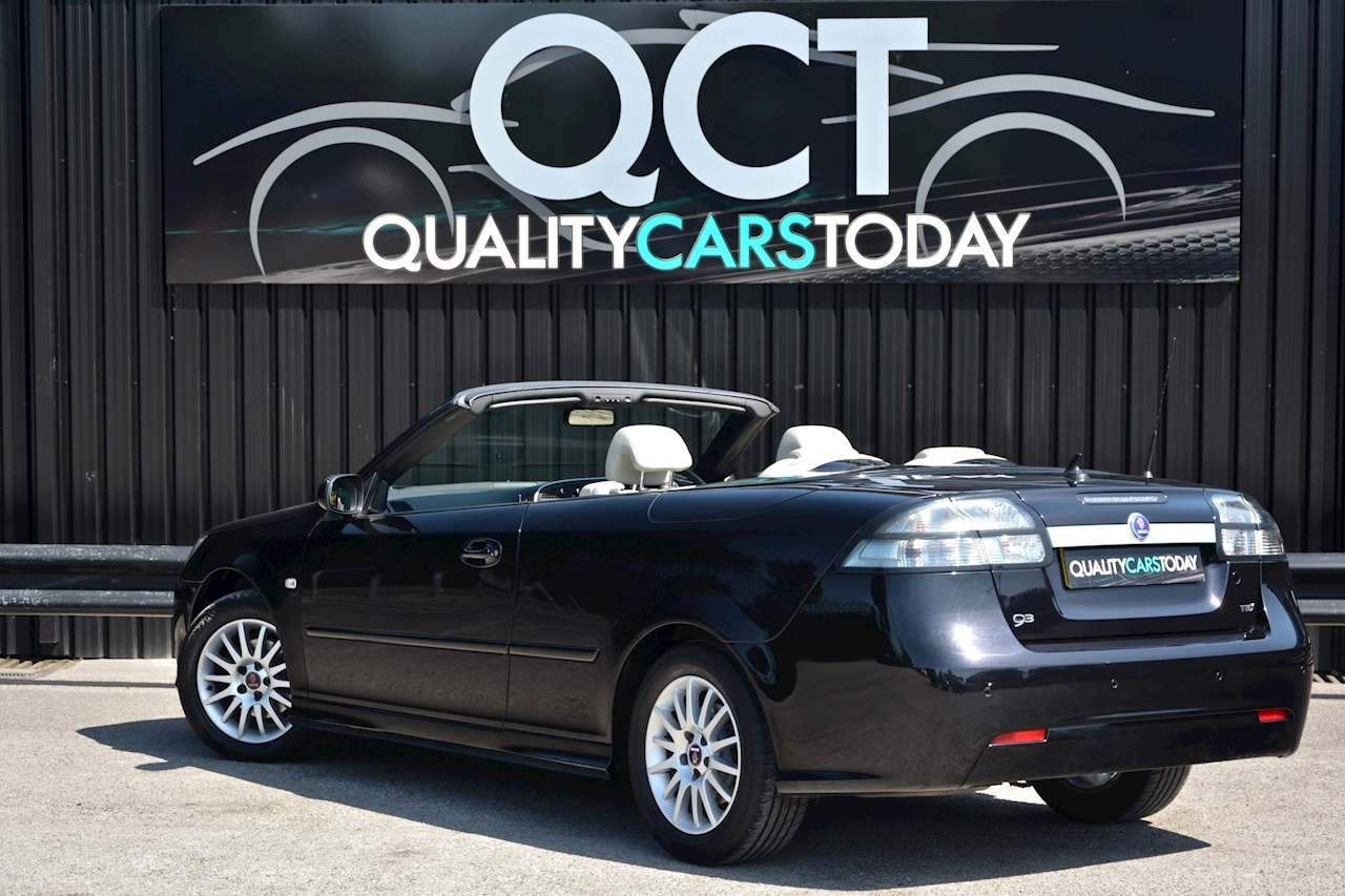 Saab 9-3 Convertible 1.9 TTID Automatic 1 Former Keeper  + Just 35k Miles + Pristine - Large 14
