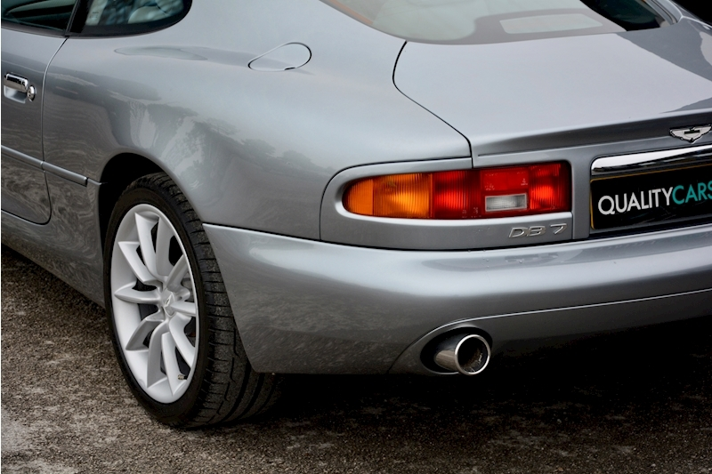 Aston Martin Db7 5.9 V12 Vantage Manual Comprehensive Service History + AM Sports Exhaust + Special Image 17