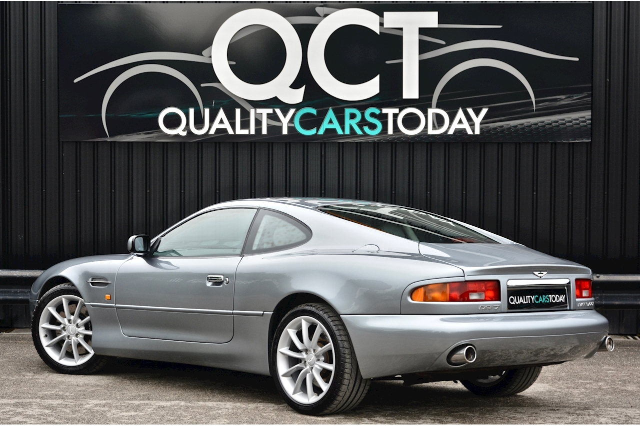 Aston Martin Db7 5.9 V12 Vantage Manual Comprehensive History + Exceptional Condition - Large 8