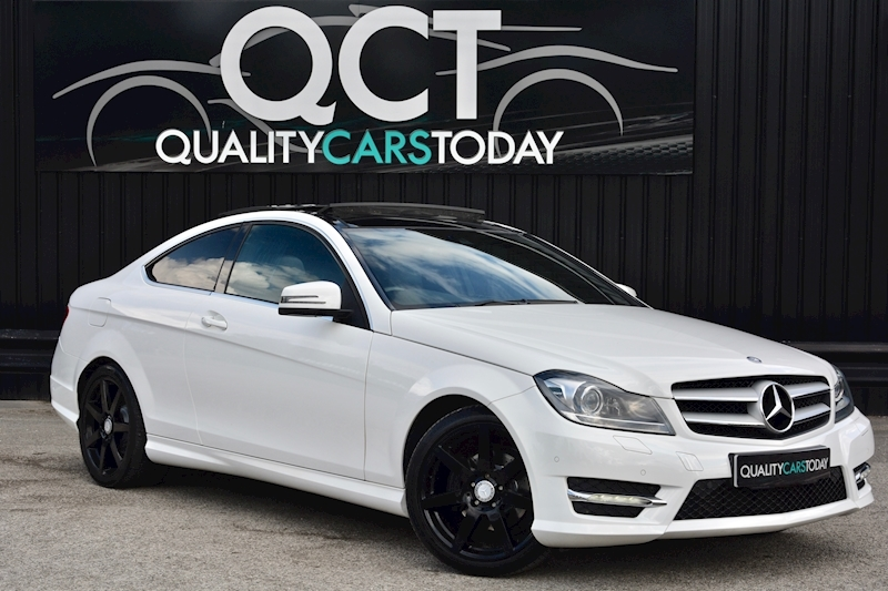 Mercedes-Benz C180 Coupe AMG Sport Auto C180 Blueefficiency Amg Sport