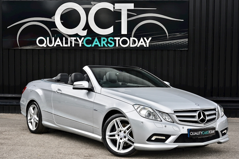 Mercedes-Benz E350 CDI AMG Sport Convertible E350 Cdi Blueefficiency Sport