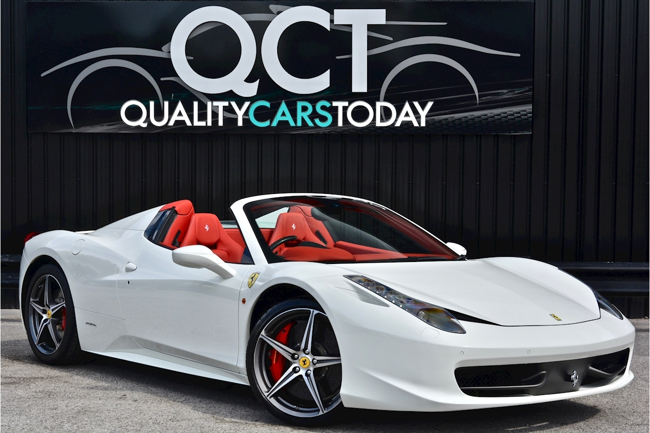 Ferrari 458 Spider £233k List + Mega Spec + 1 Former Keeper + Full Ferrari History - Large 0