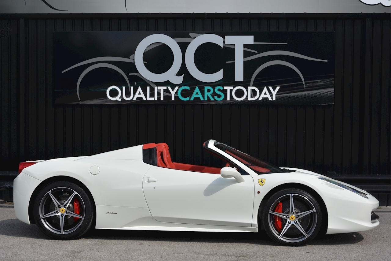 Ferrari 458 Spider £233k List + Mega Spec + 1 Former Keeper + Full Ferrari History - Large 5