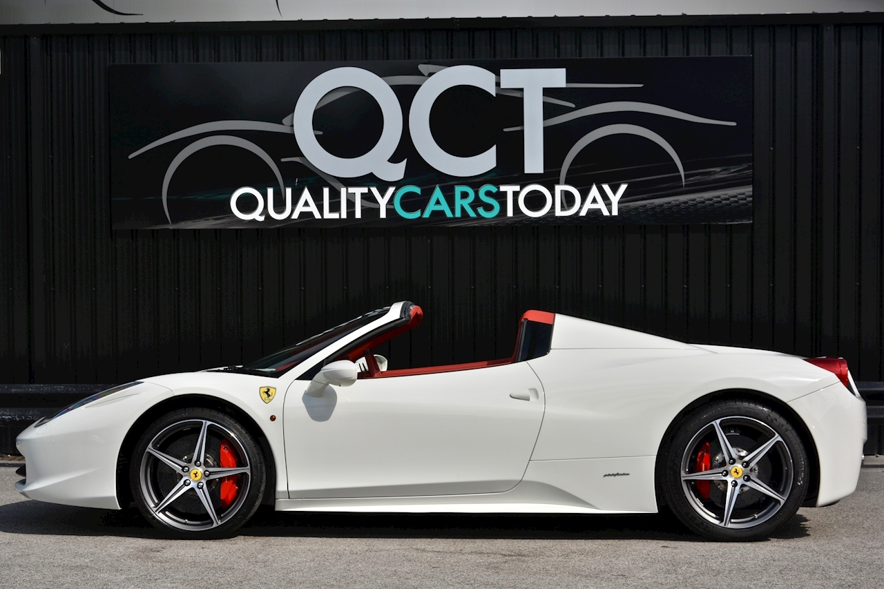 Ferrari 458 Spider £233k List + Mega Spec + 1 Former Keeper + Full Ferrari History - Large 1