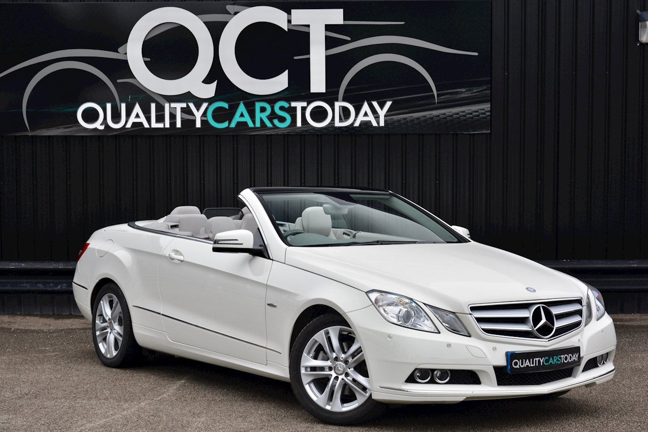 Mercedes-Benz E220 CDI Convertible SE 1 Former Keeper + Just Service by MB + Rare Spec - Large 0