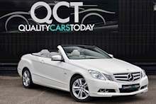 Mercedes-Benz E220 CDI Convertible SE 1 Former Keeper + Just Service by MB + Rare Spec - Thumb 0