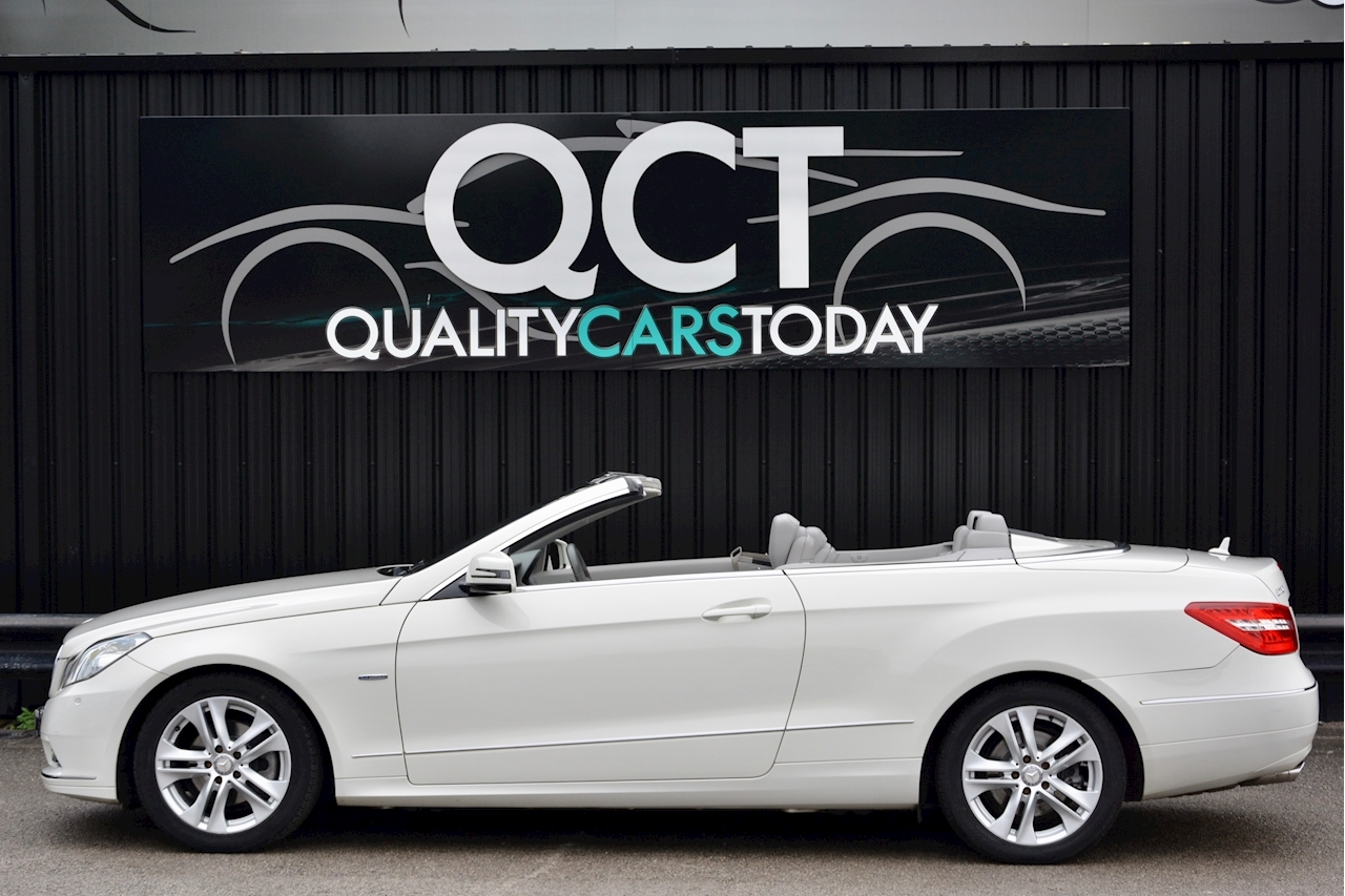 Mercedes-Benz E220 CDI Convertible SE 1 Former Keeper + Just Service by MB + Rare Spec - Large 1