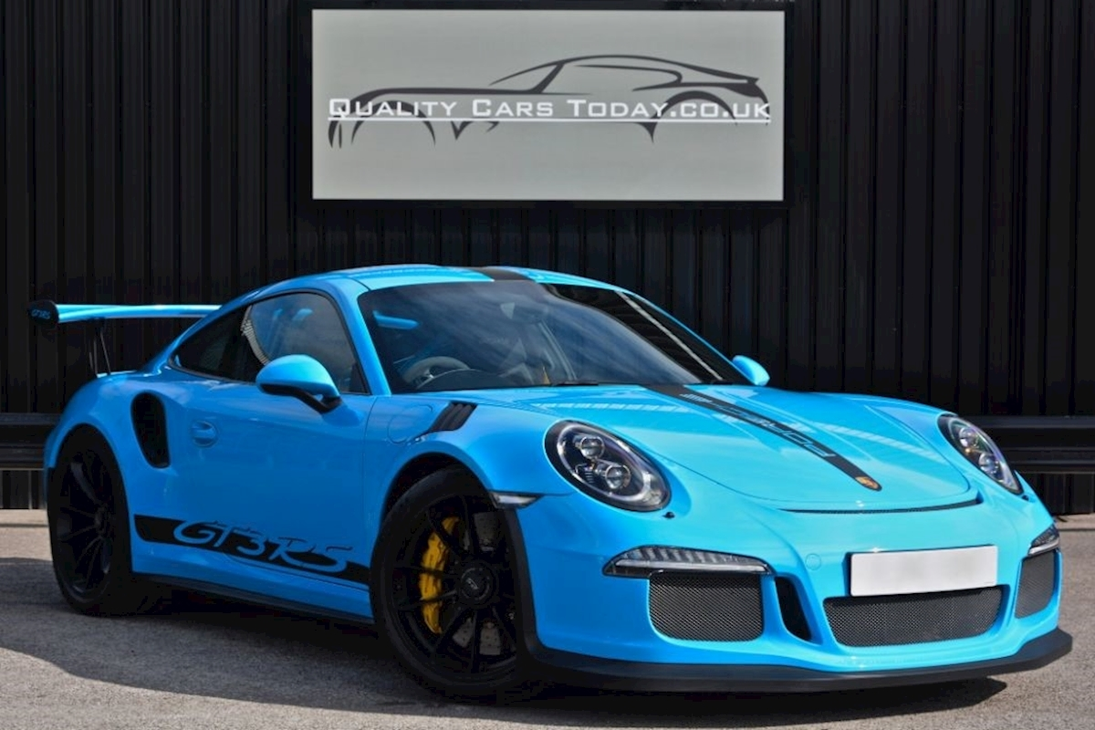 Used Porsche 911 GT3 RS 4.0 *Porsche to Sample Mexico Blue + Massive ...