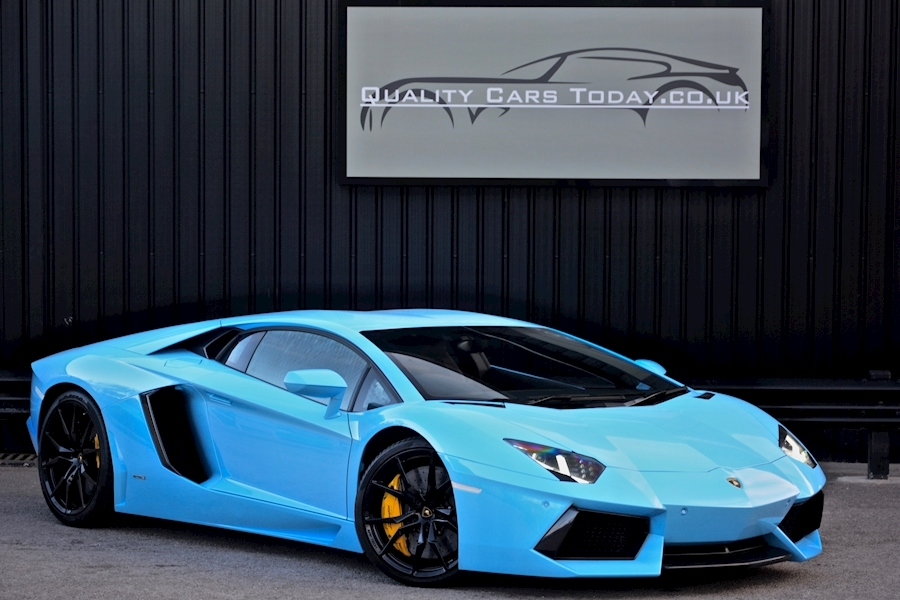 Lamborghini Aventador V12 Coupe 6.5 V12 Massive Specification + Extensive Carbon Options