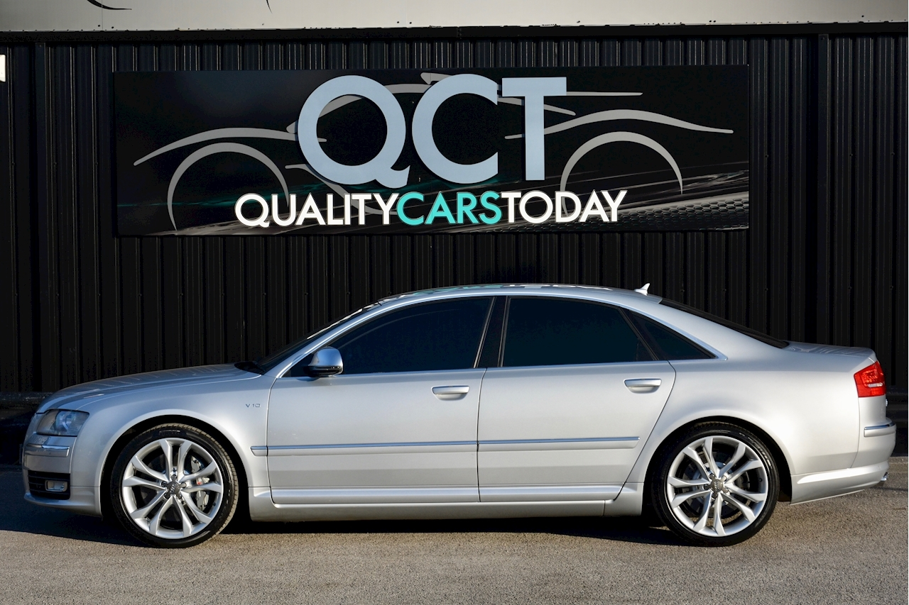 Audi S8 5.2 V10 Full Audi Dealer History + Ceramic Brakes + Adaptive Cruise - Large 1