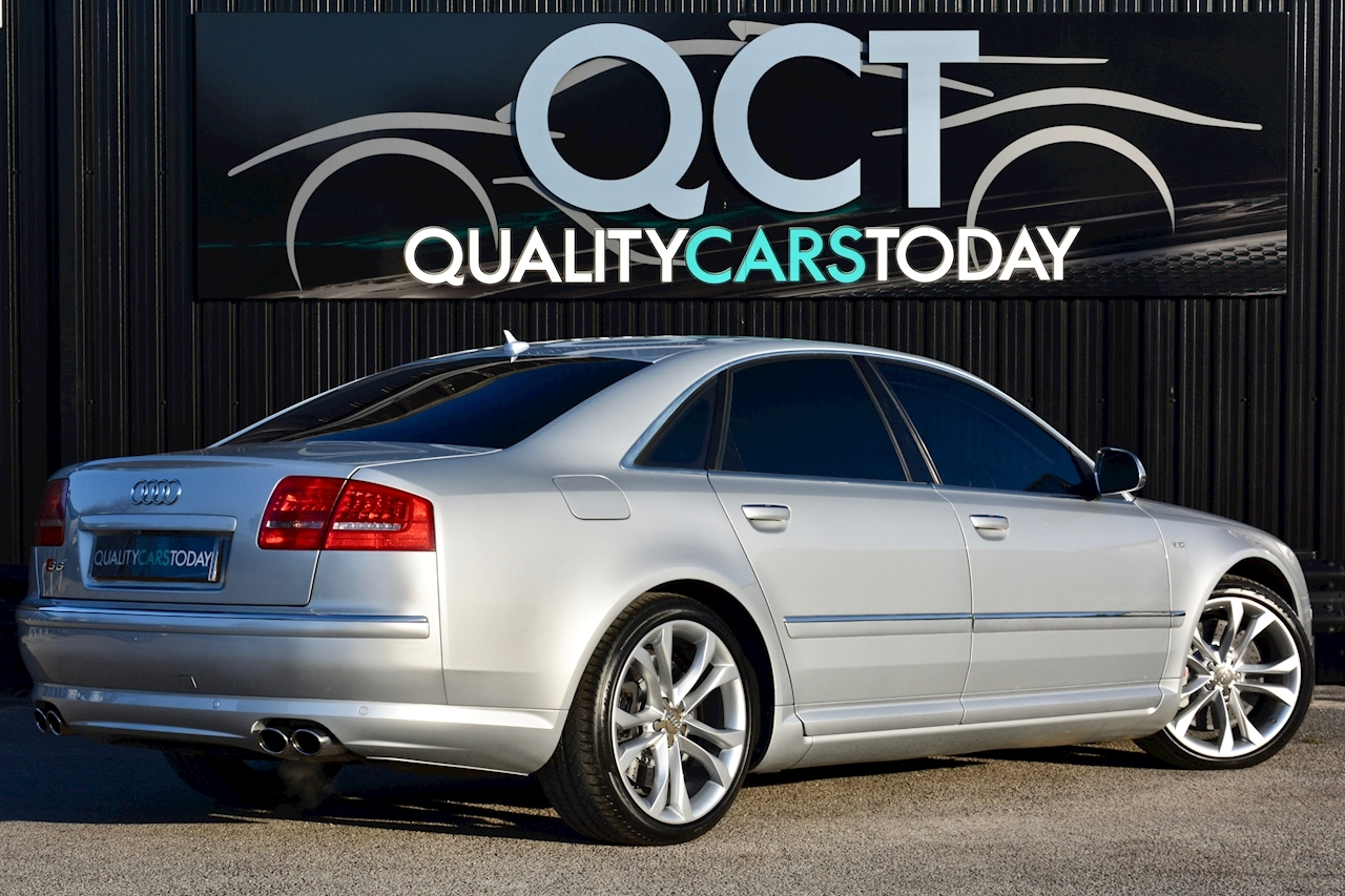 Audi S8 5.2 V10 Full Audi Dealer History + Ceramic Brakes + Adaptive Cruise - Large 5