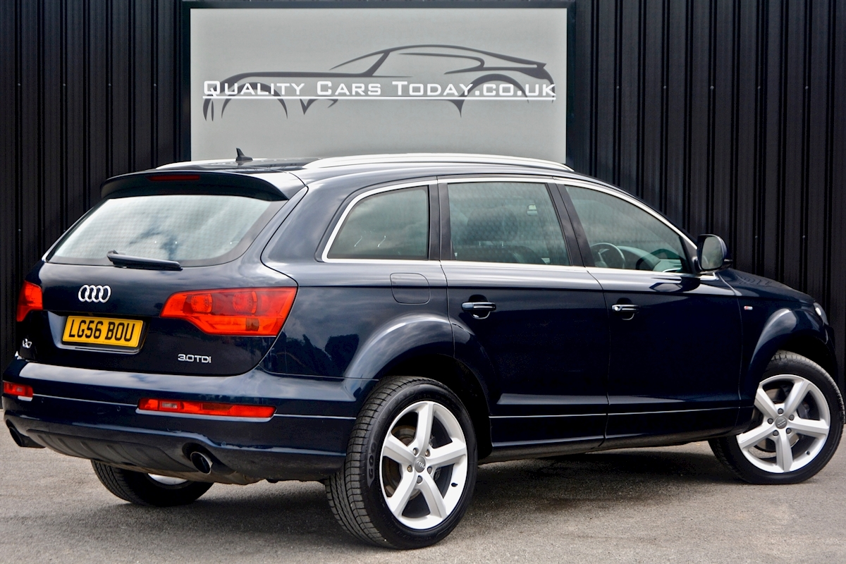 used audi q7 3 0 tdi quattro s line high specification full service history for sale. Black Bedroom Furniture Sets. Home Design Ideas