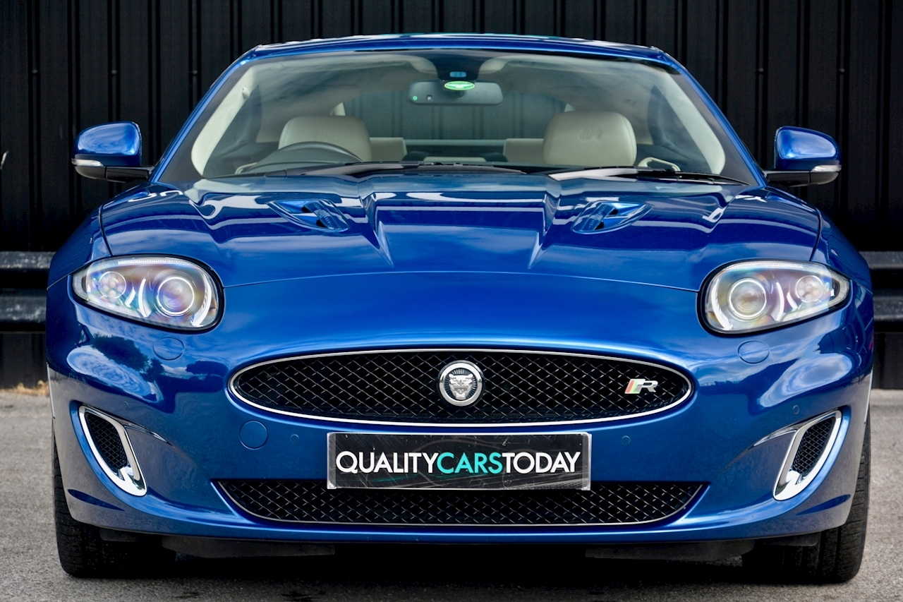 Jaguar XKR 1 Former Keeper + Kyanite Blue + Ivory + Active Performance Exhaust - Large 3