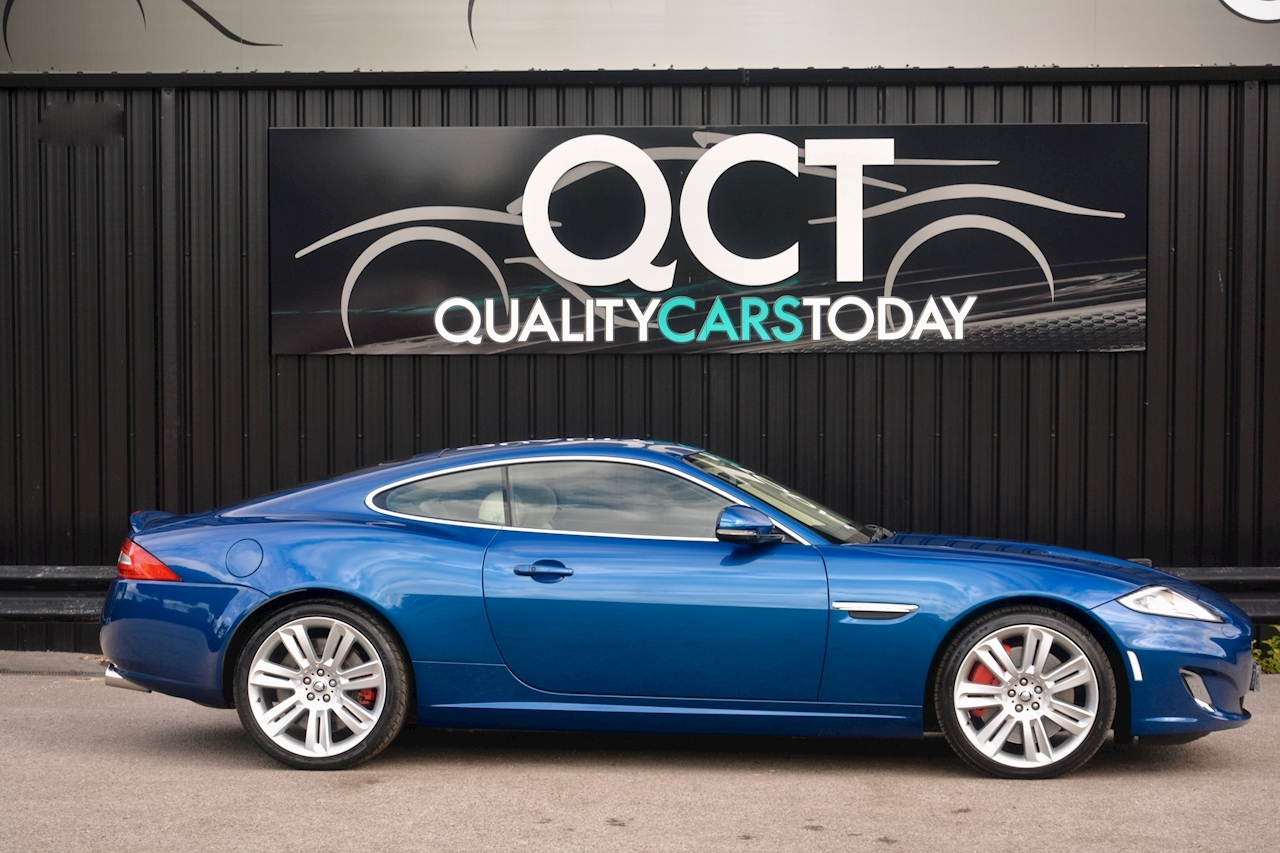 Jaguar XKR 1 Former Keeper + Kyanite Blue + Ivory + Active Performance Exhaust - Large 6