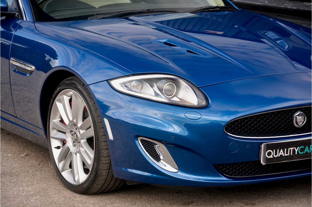 Jaguar XKR 1 Former Keeper + Kyanite Blue + Ivory + Active Performance Exhaust - Large 11
