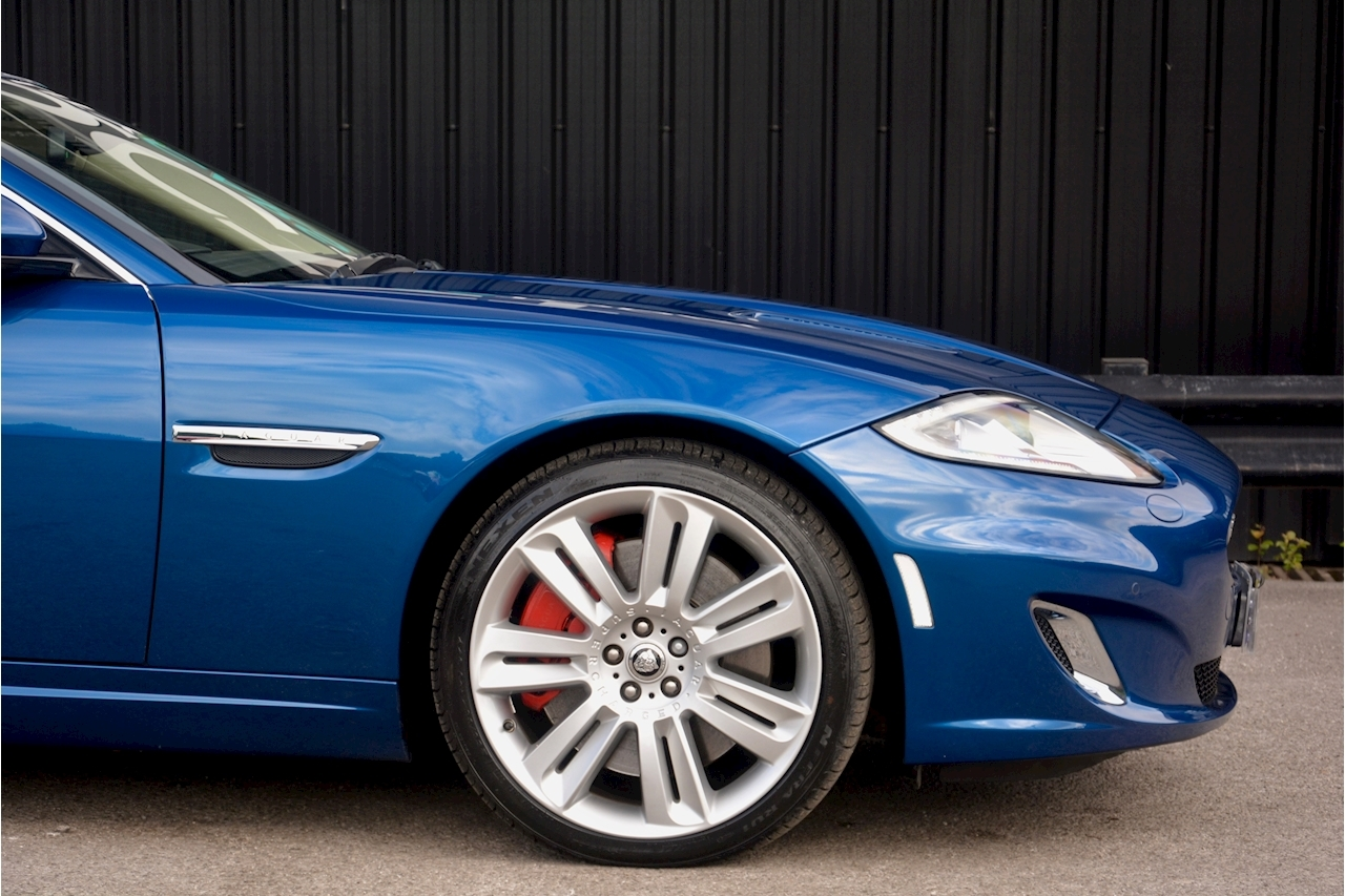 Jaguar XKR 1 Former Keeper + Kyanite Blue + Ivory + Active Performance Exhaust - Large 10