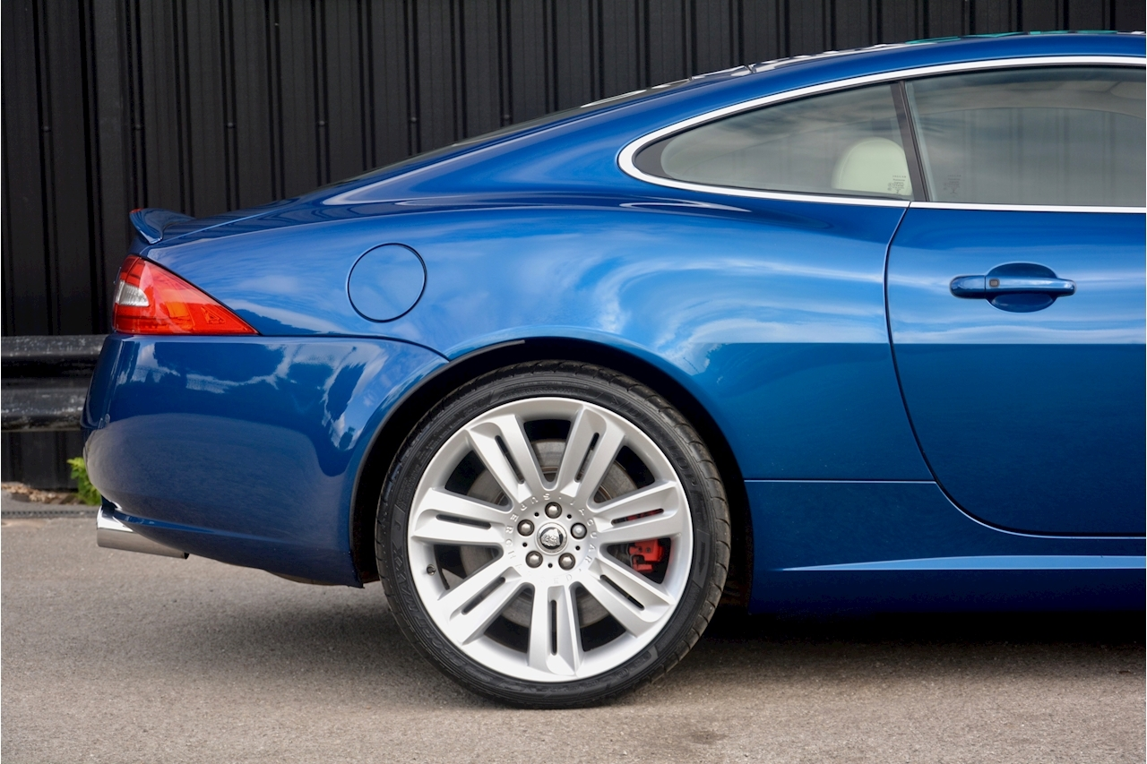 Jaguar XKR 1 Former Keeper + Kyanite Blue + Ivory + Active Performance Exhaust - Large 9