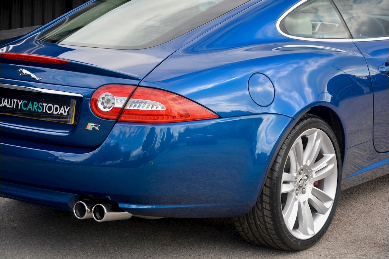 Jaguar XKR 1 Former Keeper + Kyanite Blue + Ivory + Active Performance Exhaust - Large 8