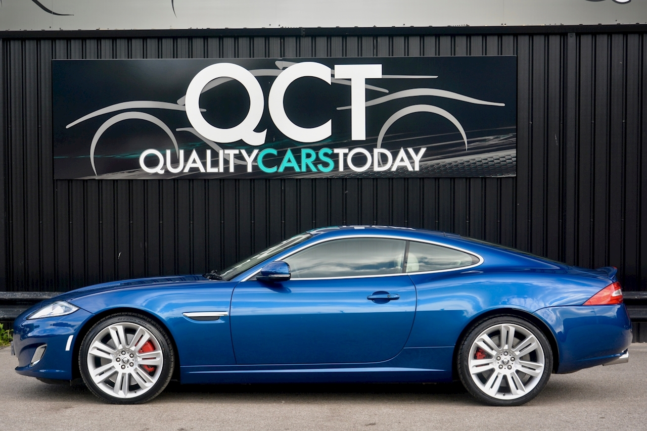 Jaguar XKR 1 Former Keeper + Kyanite Blue + Ivory + Active Performance Exhaust - Large 1