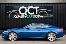 Jaguar XKR 1 Former Keeper + Kyanite Blue + Ivory + Active Performance Exhaust - Thumb 1