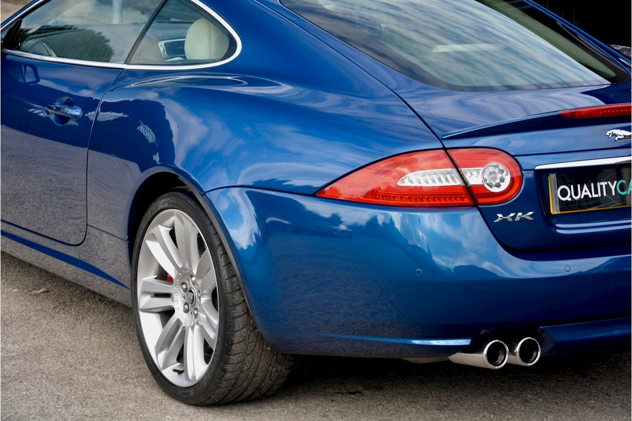 Jaguar XKR 1 Former Keeper + Kyanite Blue + Ivory + Active Performance Exhaust - Large 15