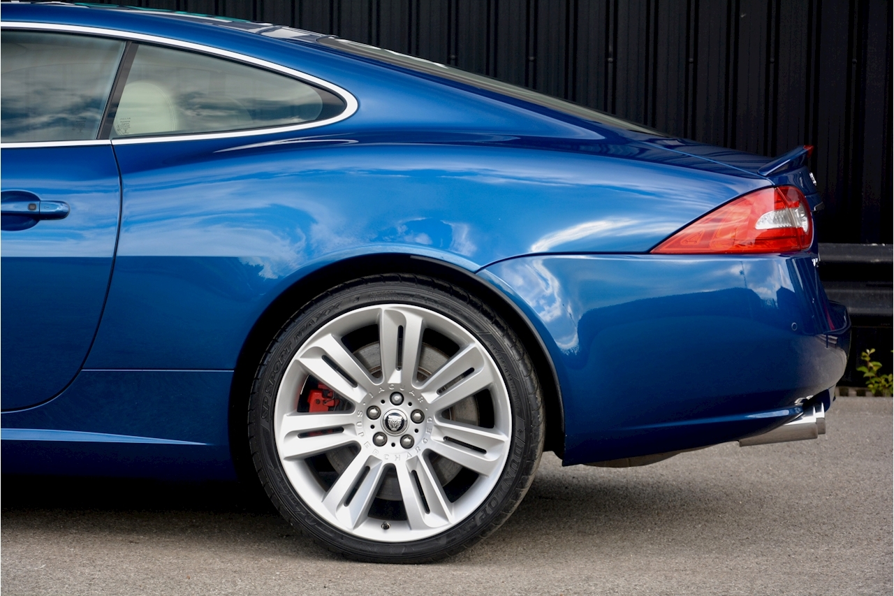 Jaguar XKR 1 Former Keeper + Kyanite Blue + Ivory + Active Performance Exhaust - Large 14