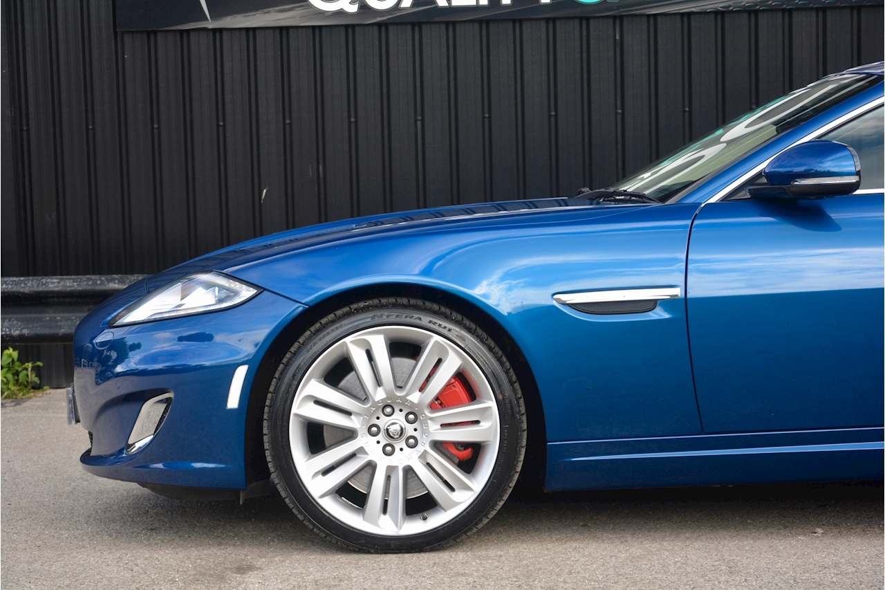 Jaguar XKR 1 Former Keeper + Kyanite Blue + Ivory + Active Performance Exhaust - Large 13